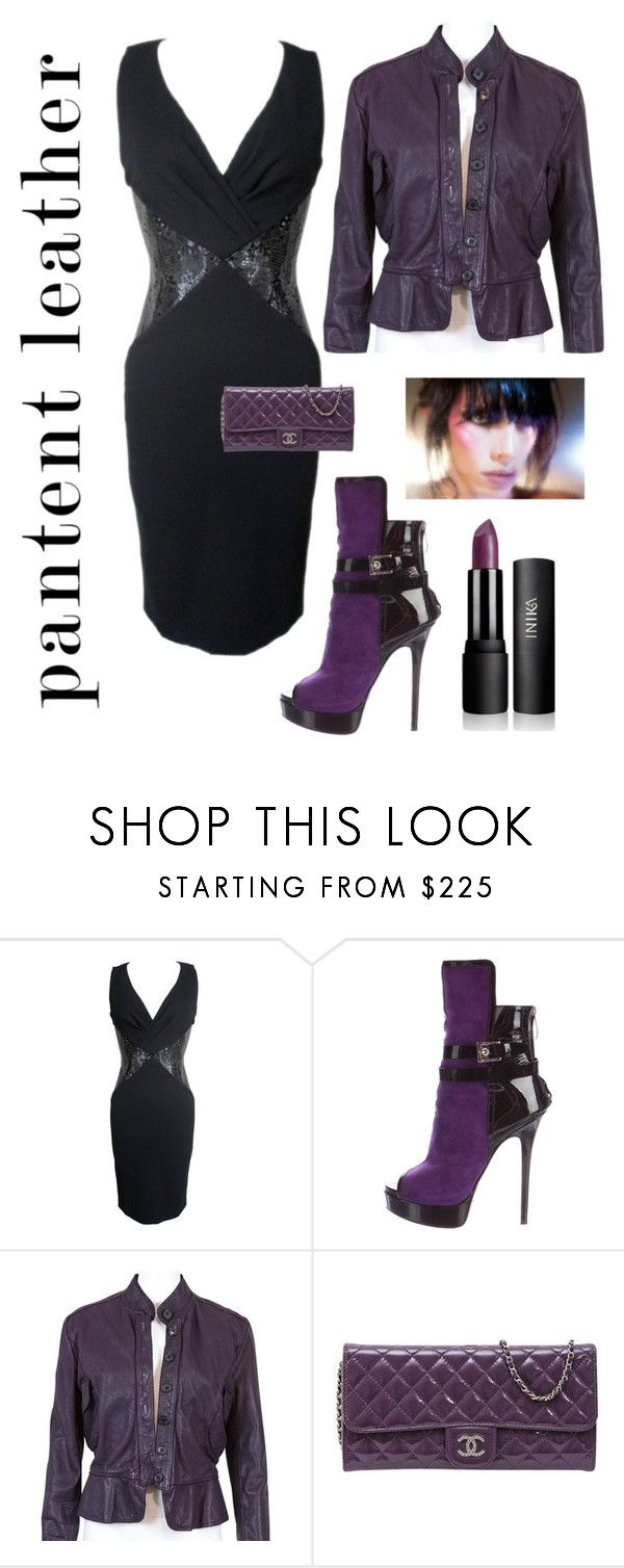 """City Fashion"" by kotnourka ❤ liked on Polyvore featuring Versace, Gianmarco Lorenzi, Burberry and Chanel"