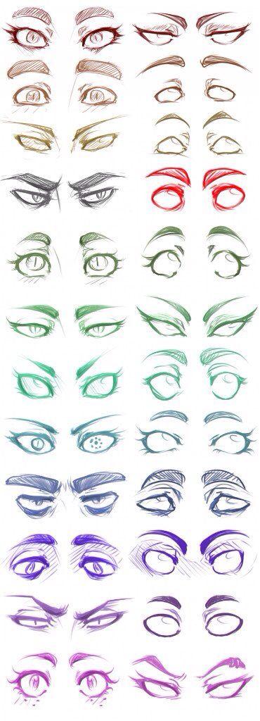 Expreciones con los ojos!!