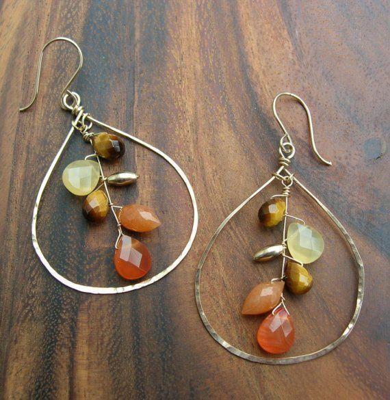 wonderful wire jewelry 14 #handmadeJewelry   – Schmuck DIY