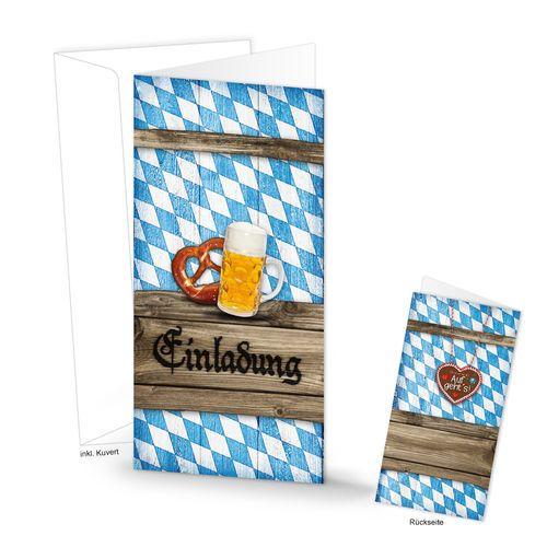 40 besten bayerische papeterie für euer fest bilder auf pinterest, Einladungsentwurf
