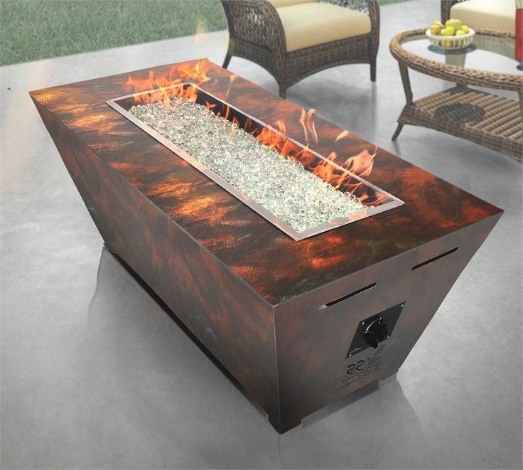 7 best propane fire pit images on pinterest gas fires for Concreteworks fire table