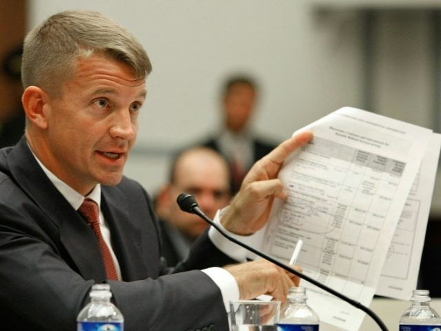 Blackwater founder Erik Prince, seen here during 2007 testimony in Congress, is back with a plan to replace US troops in Afghanistan with private contractors