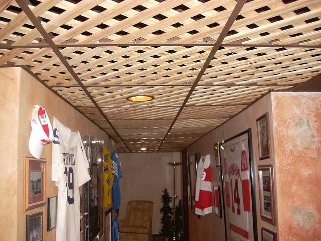 Lattice Ceiling Tiles 2 By Jem Cjlink Via Flickr