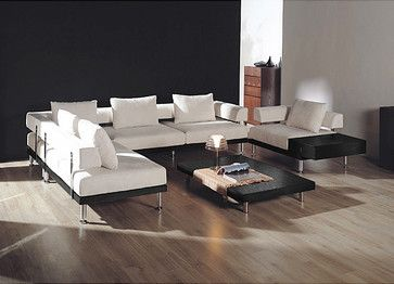 Contemporary Sectional Modern Sofa   Modern   Sectional Sofas     By  Overstock