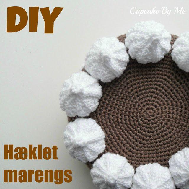 Cupcake By Me ©: DIY - Crochet meringue (kyskager)