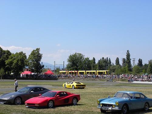 Festival Automobile de Mulhouse  www.tourisme-mulhouse.com #mulhouse #alsace #festival #automobile #festivalautomobile #ferrari #autodrome