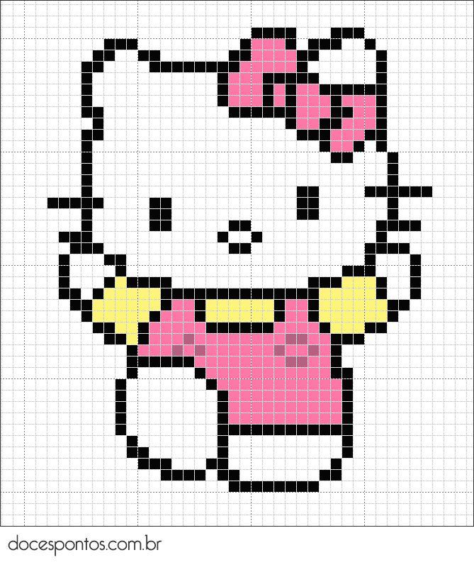 Doces Pontos: Hello Kitty