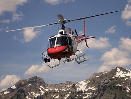 Helikopterflug | Fliegen & Fallen