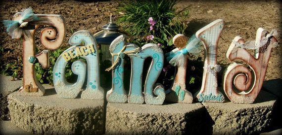 239 Best Wooden Letter Ideas!! Images On Pinterest