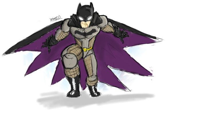 The Batman Redesigns #1- Batman (progress) by Comic-Book-Guy-2099