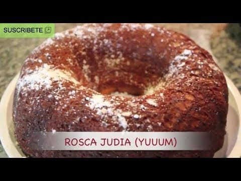 Rosca judia(: NGREDIENTES: - caja de pastel (Yellow Cake Mix) - polvo de pudín de vainilla - 4 huevos - 1 taza de crema agria - 1 taza de leche - 1 taza de aceite - nuez picada (al gusto)  En un recipiente aparte revolver: - 4 cucharadas de azúcar - 1 cucharada de canela en polvo