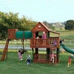 Wooden Swing Sets And Playsets