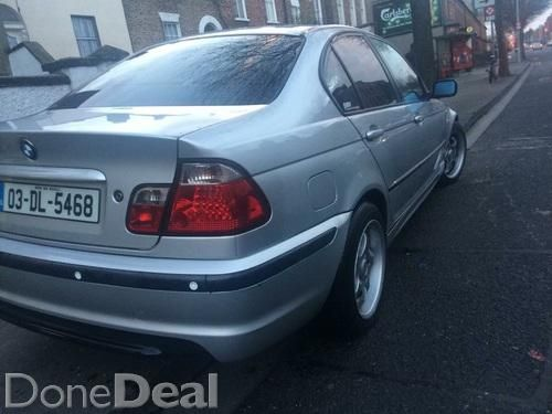 Bmw 320d 6 speed fresh nct and tax