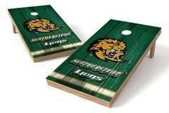 Southeastern Louisiana Lions Single Cornhole Board - Vintage