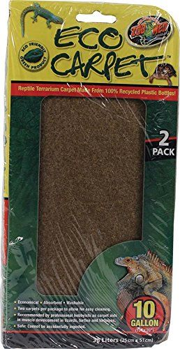 Zoo Med Reptile Cage Carpet for 10 Gallon Tanks, 20 x 10-Inches - http://www.bunnybits.org/zoo-med-reptile-cage-carpet-for-10-gallon-tanks-20-x-10-inches/