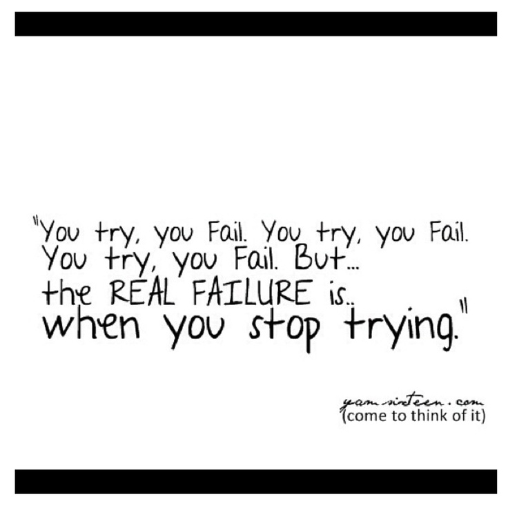 100% Agree..Goodnight! #quote #try #fail #inspiration #quotes #mensfashionfix #igdaily #instaquote #igers #sydney #australia