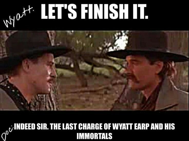 Doc Holliday & Wyatt Earp ❤