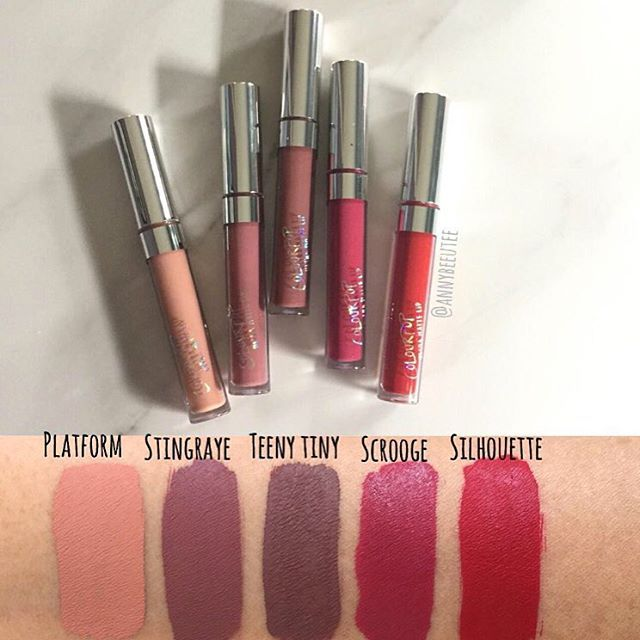 Colour Pop Cosmetics Ultra Mattes