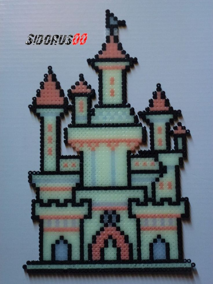 Castle Perler Bead Pattern Related Keywords & Suggestions