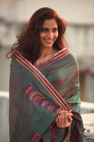 Green Kanjivaram Silk Doodle Saree