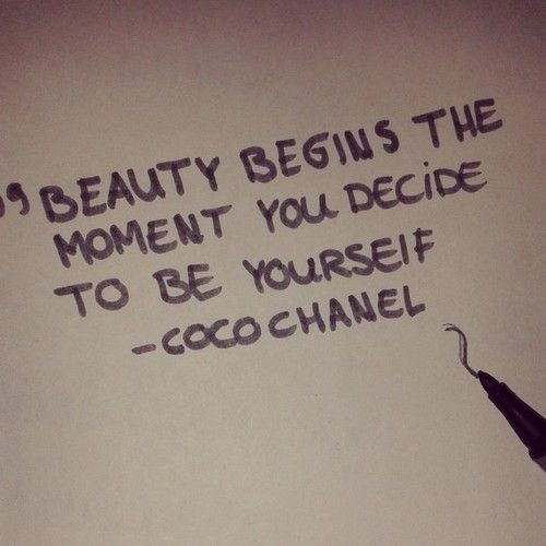7 Quotes about Beauty to Stick to Your Mirror ... → Beauty