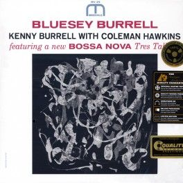 Kenny+Burrell+Bluesey+Burrell+Coleman+Hawkins+LP+200+Gram+Vinyl+Stereo+Prestige+Analogue+Productions+QRP+-+Vinyl+Gourmet