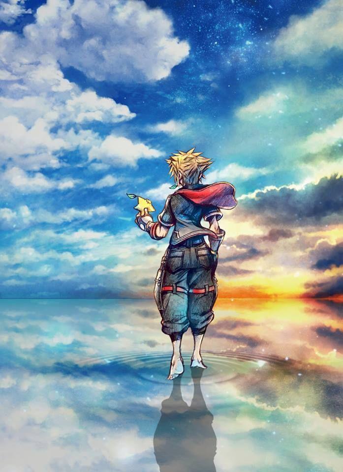 Idi Za Mnoj Za Mechtoj Kingdom Hearts Wallpaper Kingdom Hearts Fanart Sora Kingdom Hearts