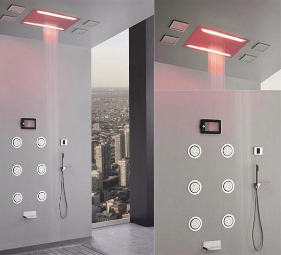 graff aqua sense shower