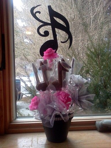 Music Note Centerpiece Piano Pinterest Sweet 16