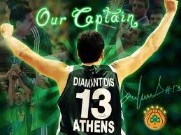 Captain of Panathinaikos BC 3D