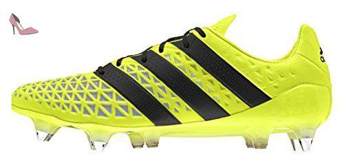 adidas Ace 16.1 SG, Chaussures de foot homme, Jaune, 48 2/3 EU - Chaussures adidas (*Partner-Link)