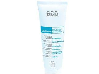 ECO Haarspülung von eco cosmetics, 125ml - Seidiger Glanz und Pflege für jeden Haartyp. Glättet Ihr Haar ohne es zu beschweren. Für geschmeidiges und weiches Haar. Mit Jojoba & grünem Tee.