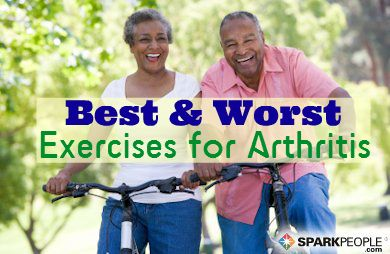 Best and Worst Exercises for Arthritis via @SparkPeople