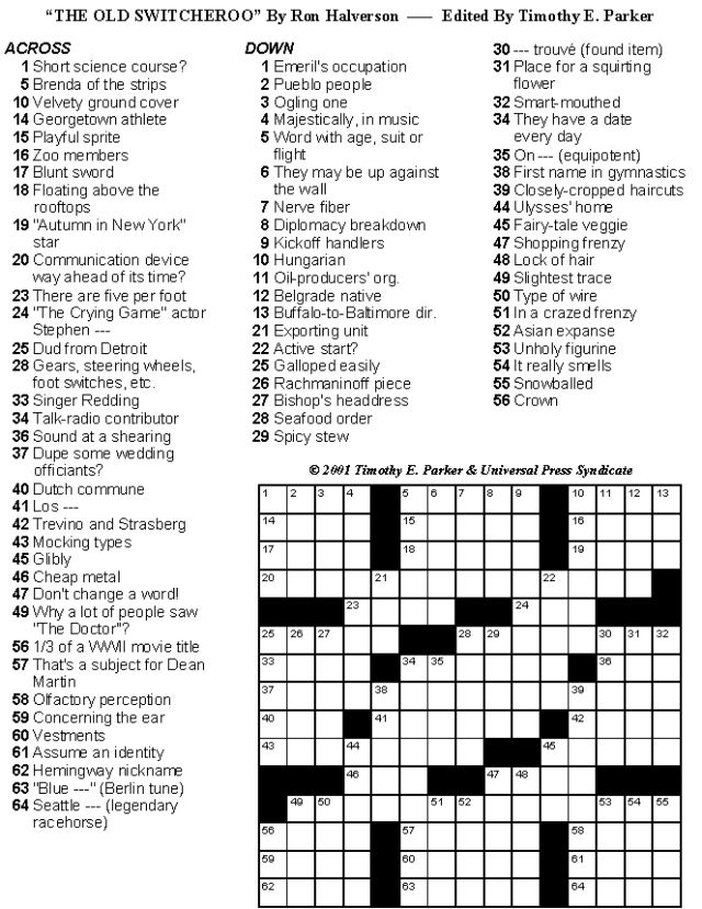 It's just a graphic of Unforgettable Printable New York Times Crossword