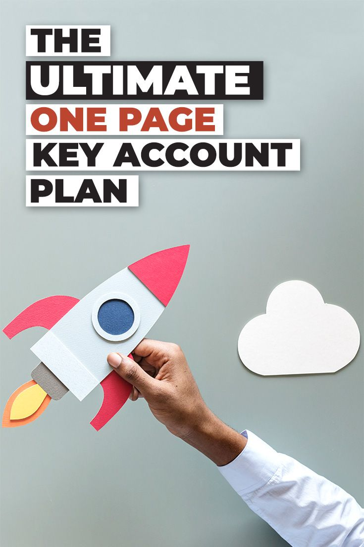 The Ultimate One Page Key Account Plan Template Accounting How