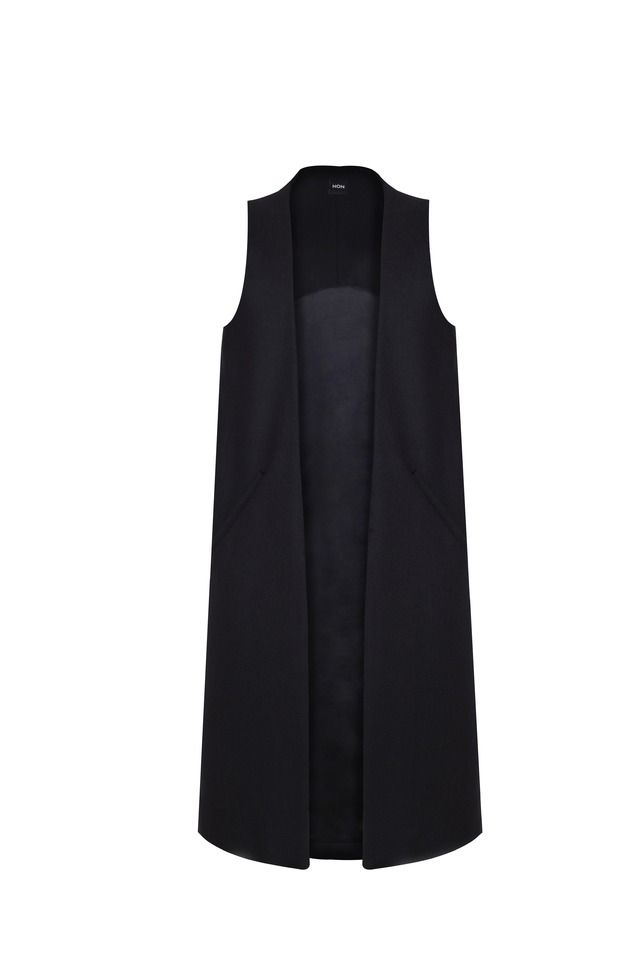 Tailored merino wool vest | Jackets and vests