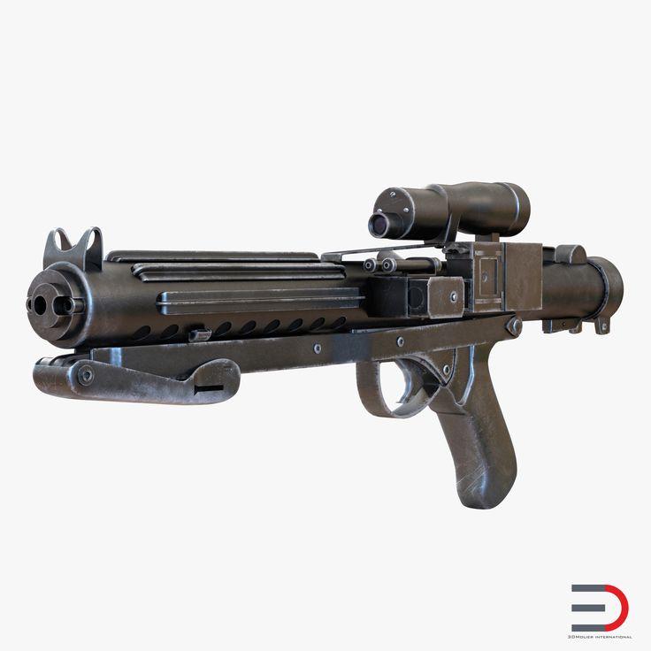 Star Wars Stormtrooper Gun Used 3d model #StarWars #Stormtrooper #Gun #3d #model http://www.turbosquid.com/FullPreview/Index.cfm/ID/981233?referral=3d_molier-International