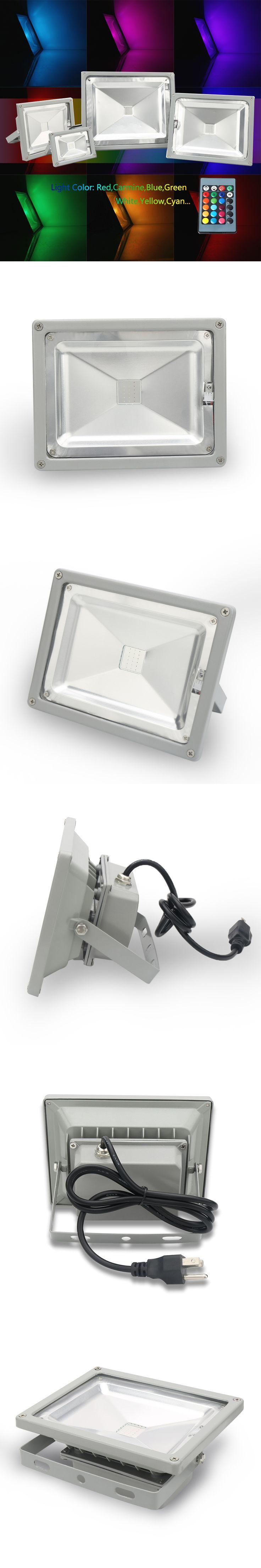 High power flood led light outdoor Waterproof Aluminum 10W 20W 30W LED Flood Light, IP65 flood light led,pengiriman gratis