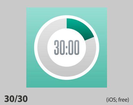 ADHD Homework App: 30/30