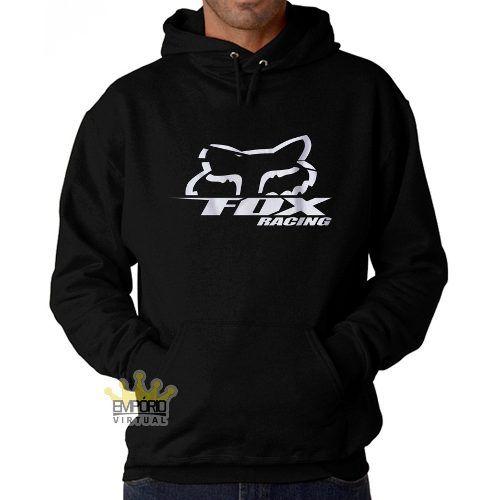 Blusa Fox Racing Motocross Blusao Bolso Capuz