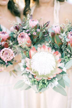 australian natives bouquet - brides of adelaide magazine - wedding bouquet