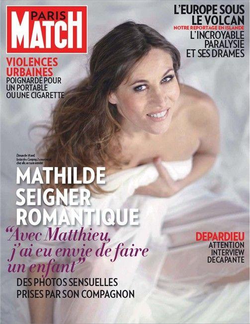 Mathilde Seigner, romantique !