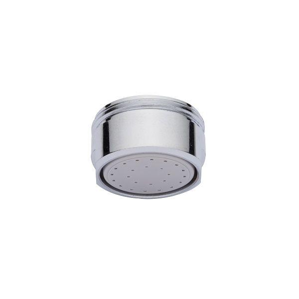 Strahlregler-Spar-Brause ohne Luftansaugung Eco M 24x1 AG (Außengewinde) in LongLife Qualität in der 10er-Packung. – Strahlregler-Spar-Brause Eco M 24x1 AG – Durchflussklasse X – 2,5 – 3,0 Liter/Minute – LongLife Qualität – Menge: 10 Stück Diese Spar-Brause-Strahlregler sind besonders für Handwaschbecken mit vorgemischtem Wasser sowie in Industrie, im öffentlichen und privaten Bereich geeignet. Speziell geeignet auch für Reihen-Waschanlagen. Ein Einsparungspotential von bis zu 90% an Wasser…