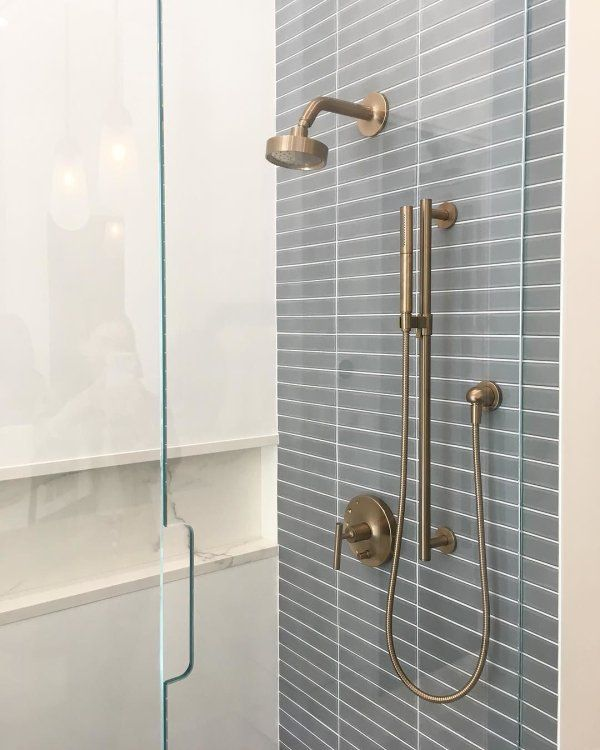 The Bold Look Of In 2020 Master Bathroom Shower Shower Fittings