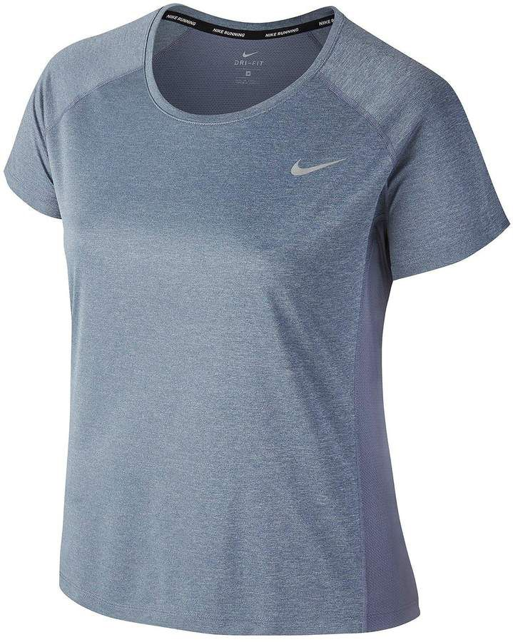 9a9ad90337676 Nike Plus Size Dry Miler T-Shirt