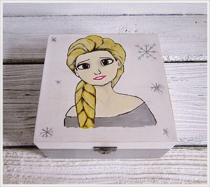 Sosnowy  DEKUFEREK: Malowane cd.