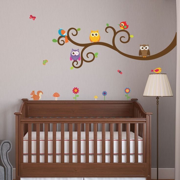Owls and Friends | Nursery Wall Decals | WallsNeedLove