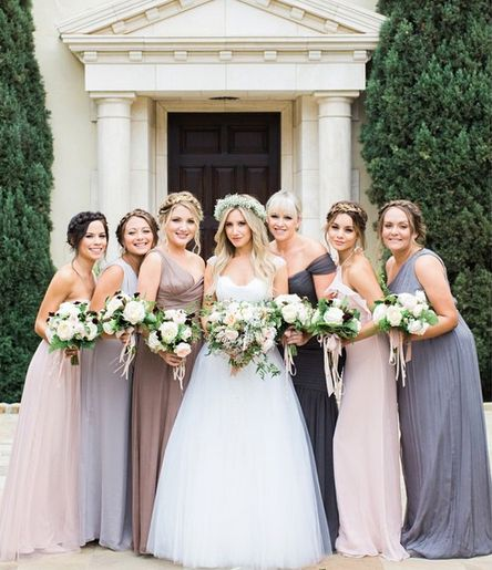 How to wear mismatched bridesmaid dresses | The Solemates™ - High Heel® Protector Cap, Prevents Heels from Sinking into Grass