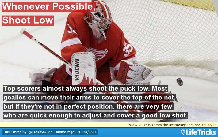 Hockey Goalie Tips and Tricks