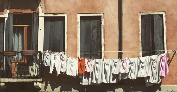 Laundry day -Venice,Italy